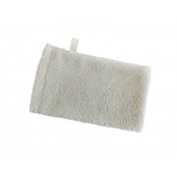 myjka rękawica biała