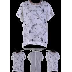 Bluzka lniana  - biała -...