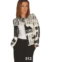żakiet 512 egipt biały