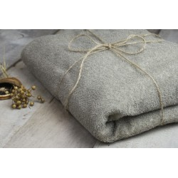 Ręcznik lniany frotte -...