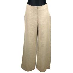 Spodnie lniane damskie...